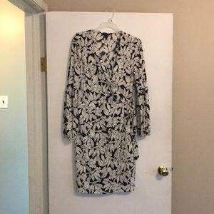 Dresses & Skirts - Faux wrap dress